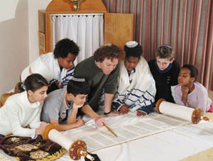 Beim Studium der Torah